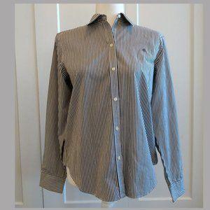 Ralph Lauren 100% Cotton Non-Iron Blouse Size M